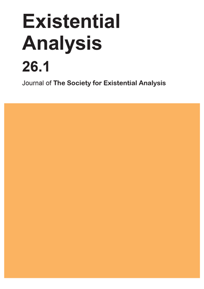 Existential Analysis 26.1 cover